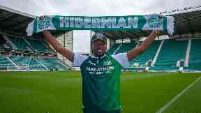 Deal: Nelom has joined Neil Lennon's squad.