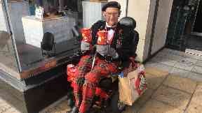 Tom Gilzean: 98-year-old fundraiser.