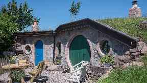 Hobbit home Craighead Howf