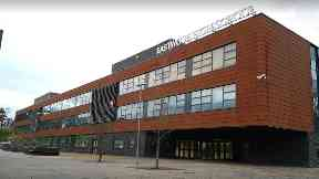 Death: Pupils were told at an assembly. Eastwood High School
