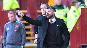 Steel: Robinson praised the character of his team after Motherwell's draw.