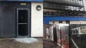 Badabing: Restaurant gutted by fire. Edinburgh