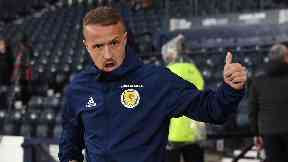 Absent: Griffiths has pulled out of the Scotland squad.