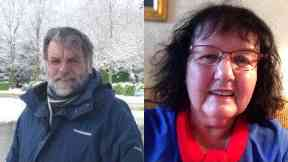 Killed: Anthony and Delia Green died in the floods. Moffat Dumfries