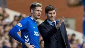 Rangers Gerrard Lafferty