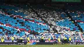 Majority: Rangers supporters will take up nearly two-thirds of Hampden for the semi-final