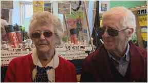 Golden years: The couple got engaged in their 80s