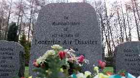 Lockerbie memorial garden, Lockerbie