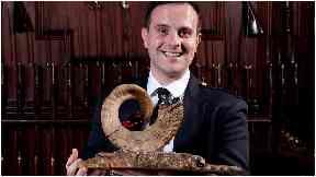 Finlay Johnston, winner of Glenfiddich Piping Championship 2018