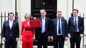 Budget: Hammond claims austerity is 'coming to an end'.