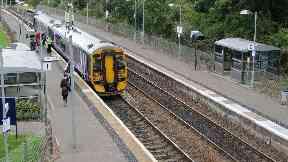 Bridge of Allan: Major train delays caused.