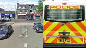 Lochgelly: He was taken to hospital in a critical condition. Dundas Street