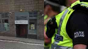Prohibition: Man suffered serious facial injuries. Aberdeen
