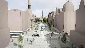 George Street New Town upgrade concept