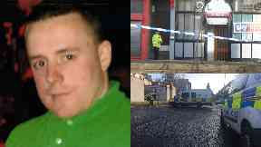 Owen Hassan: He died in hospital. Murder Old Stagg Inn Greenview Street Shawlands