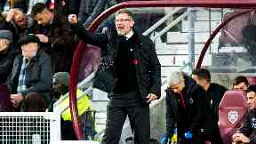 Defeat: Craig Levein's side suffered a third loss in four games.