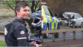 Death: Man arrested. Allan Nicholson William McLean East Kilbride Expressway