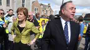 Alex Salmond: Sturgeon denies claims she covered up accusation.