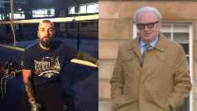 Mike Towell: His manager gave evidence. Tommy Gilmour