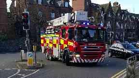 Fire probe:  Central Hotel in Annan.