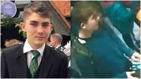 Search: Police have followed up 200 reported sightings of the schoolboy.