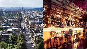 Edinburgh / stock image of pub