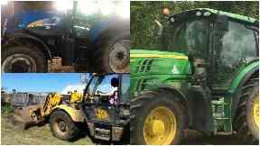 Farm equipment theft, East Lothian