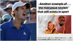 Andy Murray hits out at twerk comment to Ballon d'Or winner Ada Hegerberg
