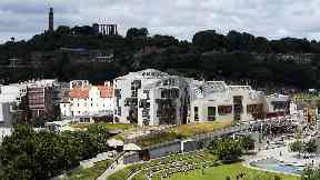 Holyrood, Scottish Parliament generic 2018