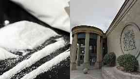 Cocaine / High Court in Glasgow