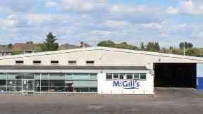 McGill's: Worker died in hospital. Johnstone Bus Death