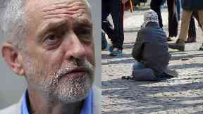 Jeremy Corbyn / poverty