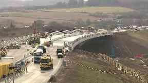 Aberdeen: Work on the bypass will not be complete until 2019.