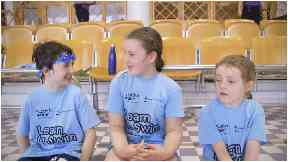 Fair Isle primary school pupils take a plane to swimming lessons on Shetland