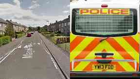 Edinburgh: The two attackers fled. Magdalene Loan Attempted murder