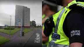 Clydebank: Man seriously injured. Dog Walker Peel View