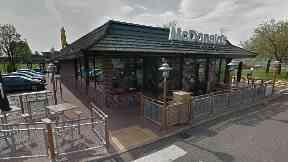 Dumfries: He got into an argument with ten teenagers. Lochside Road
