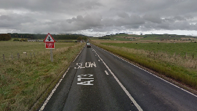 Crash death: A73 near Thankerton.