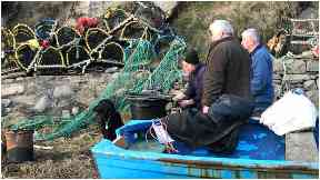 Harbour: The fishermen have been hit with a large legal bill.