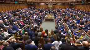 MPs pack the chamber at the conclusion of the debate ahead of a vote on the Prime Minister's Brexit deal in the House of Commons, London.