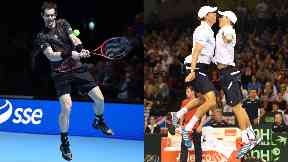 Andy Murray Bryan Brothers