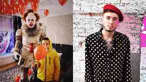 Oli Keenan, viral star who dressed as Pennywise the clown on Halloween