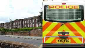 Dumfries: Police recovered a knife. Dumfries Academy