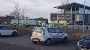Alert: Police and ambulance crews called. Dunfermline High School Drugs