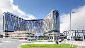 Glasgow: The Queen Elizabeth University Hospital.