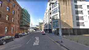 Glasgow: The woman's body was discovered in Watson Street.