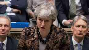 Theresa May January 21 2019.