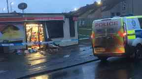 Tranent: An attempt was made to steal the ATM. New Row Tranent