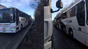 E&M Horsburgh bus fire