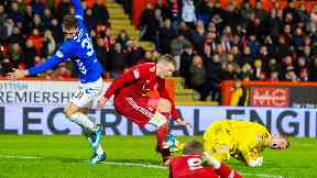 Football: Two men have been charged. Aberdeen v Rangers